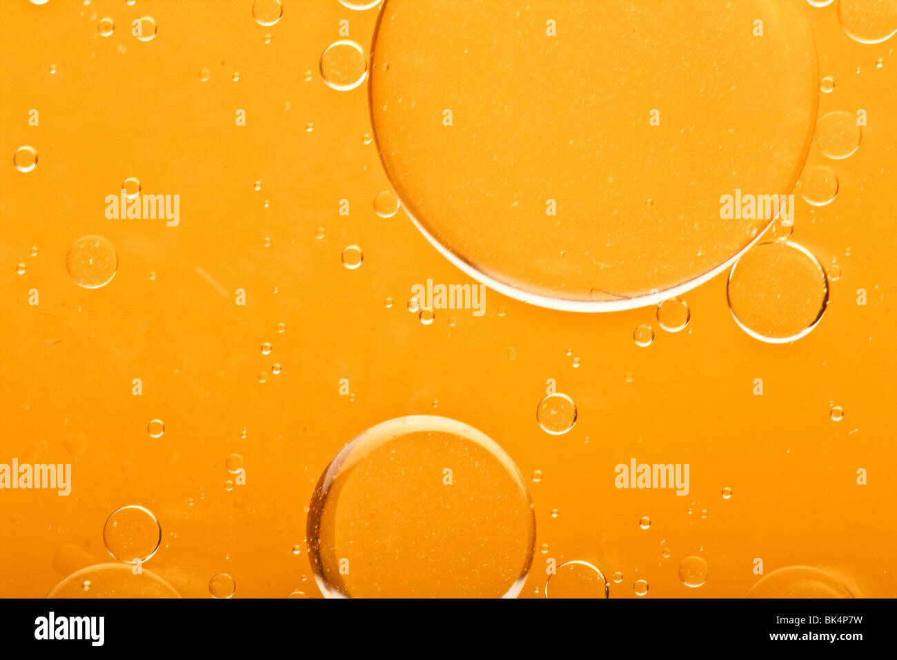 oil drops - Stock Image
