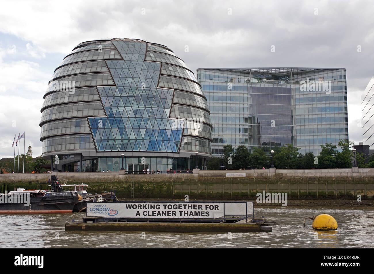 London Assembly building (City Hall) London, UK. - Stock Image