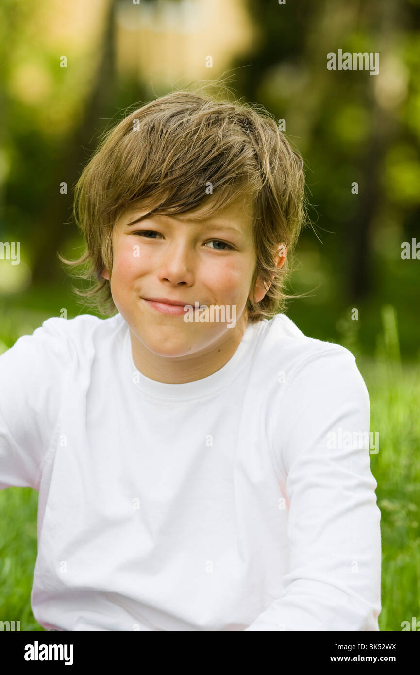 Boy 10 10 Smile High Resolution Stock Photography and Images   Alamy