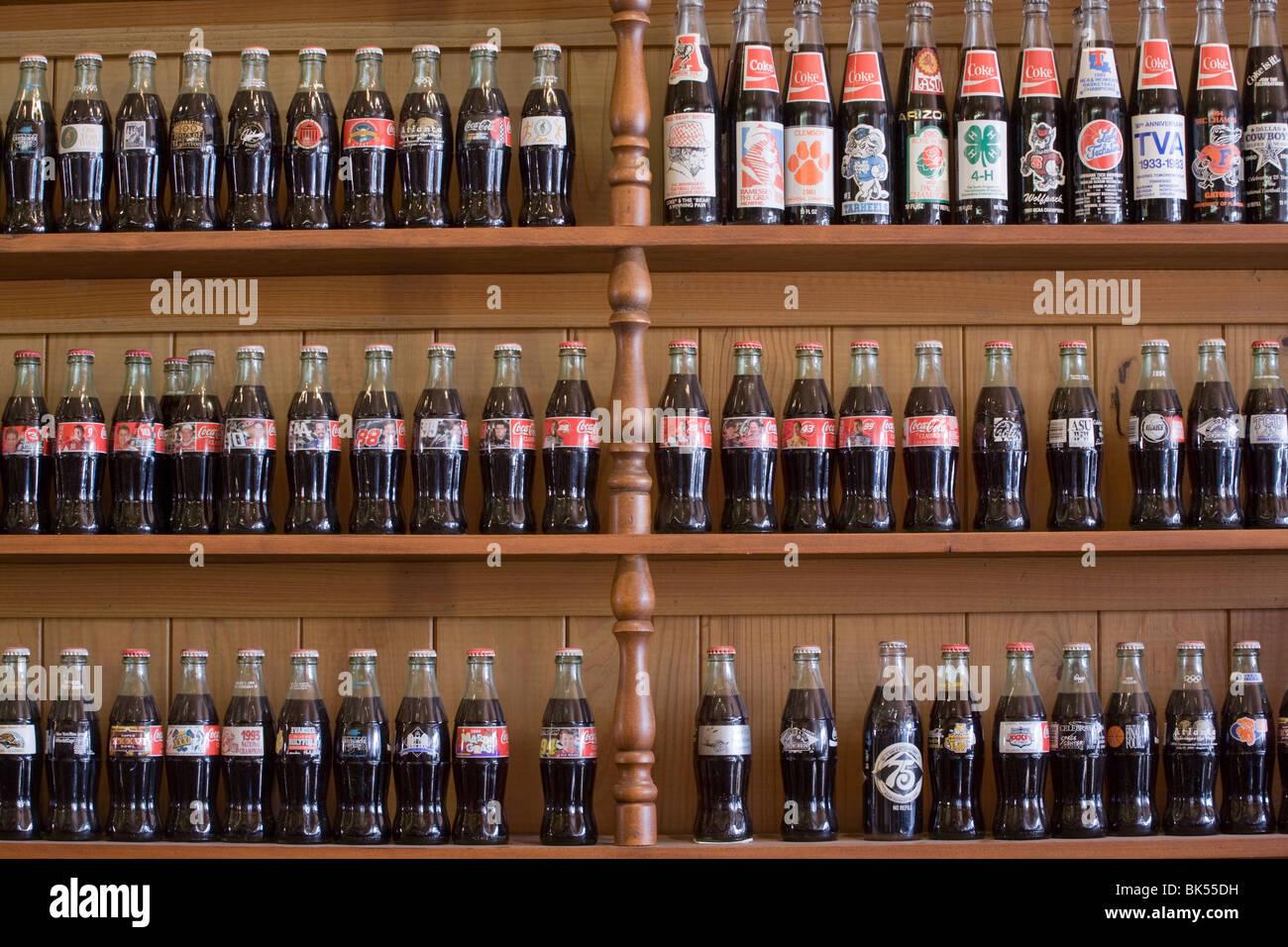 Biedenharn Museum of Coca-Cola Memorabilia, Vicksburg, Mississippi - Stock Image