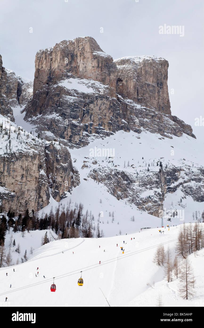 Val di Gardena, Trentino-Alto Adige, Dolomites, South Tirol (South Tyrol), Italy, Europe - Stock Image