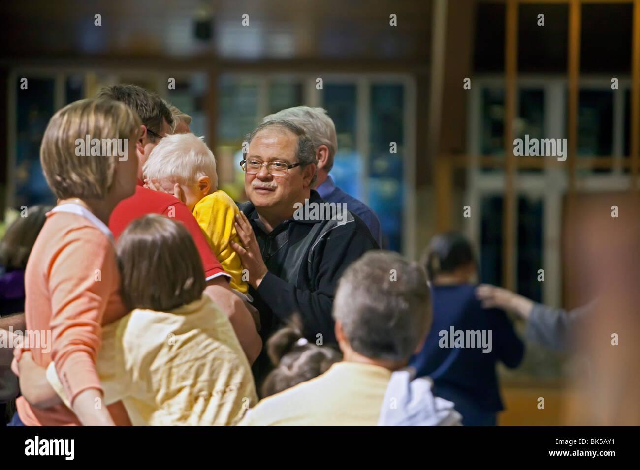 Faith Healing - Stock Image