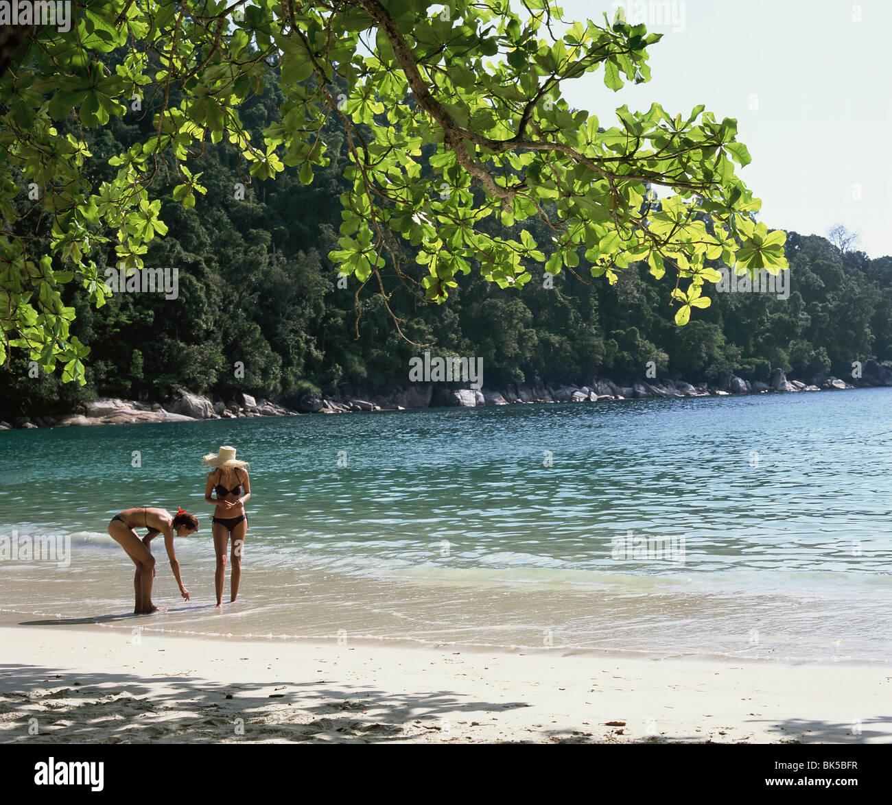 Emerald Bay, Pangkor Laut, Malaysia, Southeast Asia, Asia - Stock Image