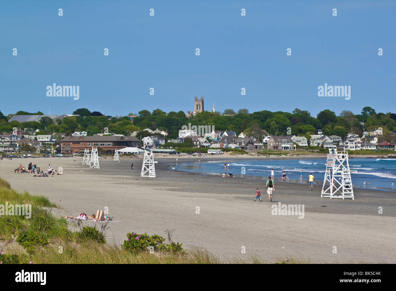 east coast u s a beach holiday stock photos east coast u s a beach