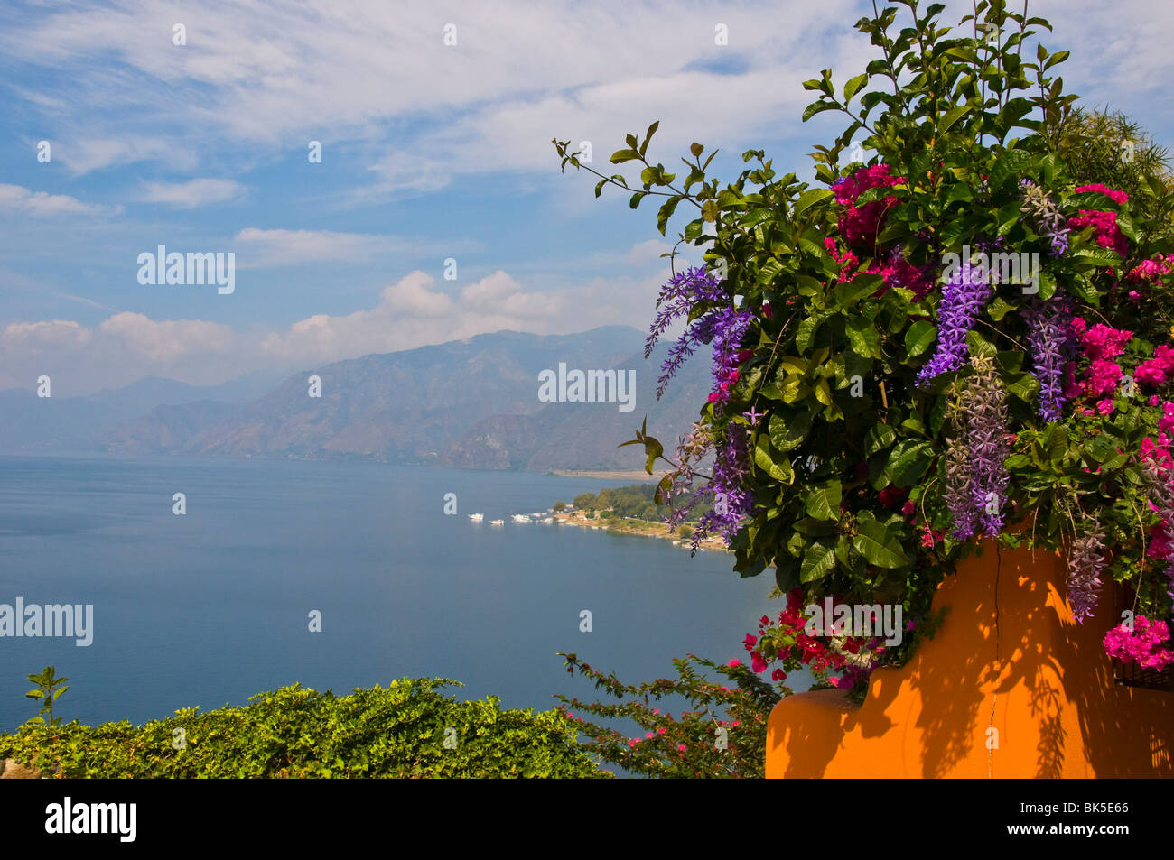 Lake Atitlan Guatemala - Stock Image