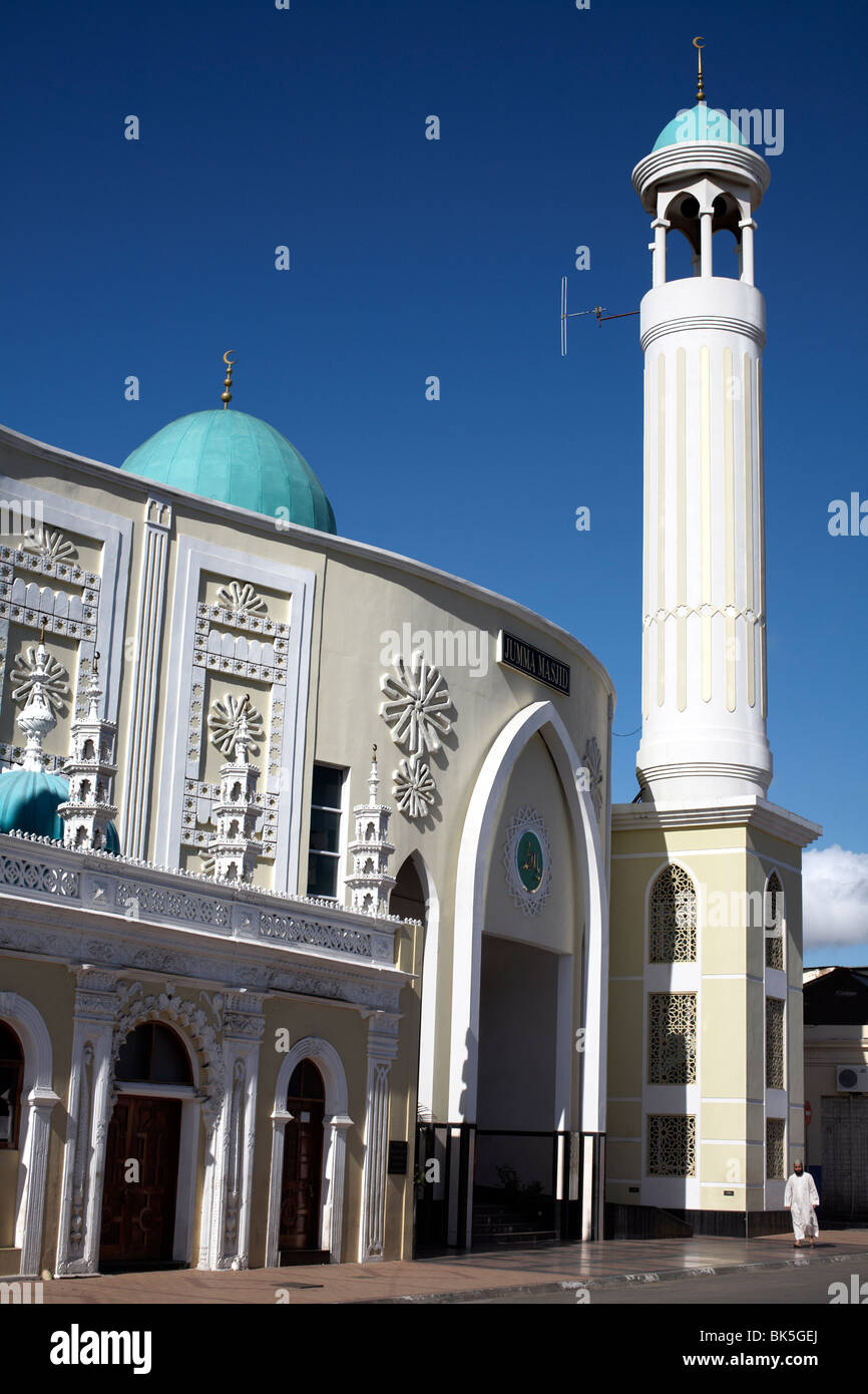 Jumma Masjid mosque, in the oldest part of Maputo, Mozambique, Africa Stock Photo