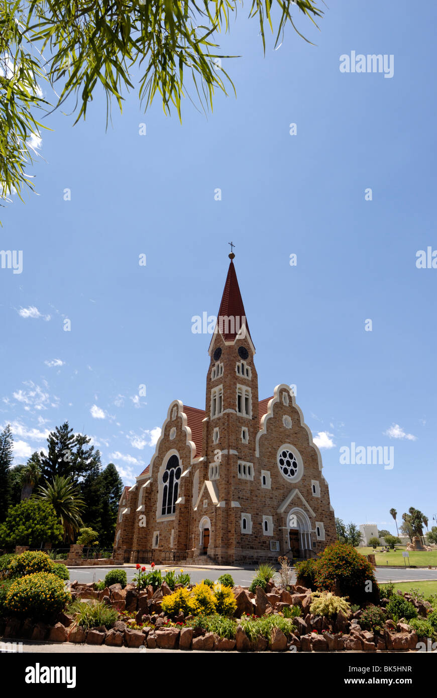 Picturesque church, Windhoek, Namibia, Africa - Stock Image