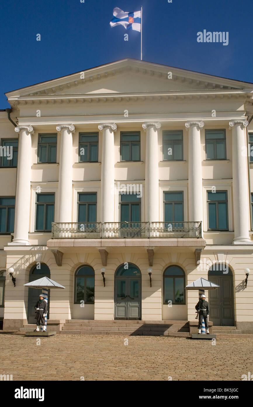 President's Palace, Helsinki, Finland, Scandinavia, Europe - Stock Image