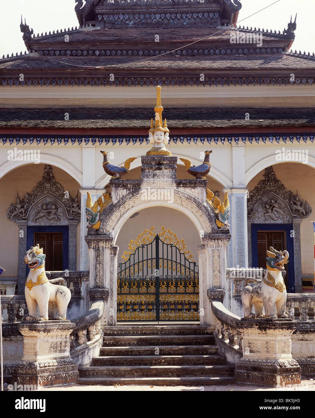 Wat Bo, Siam Reap, Cambodia, Indochina, Southeast Asia, Asia - Stock Image