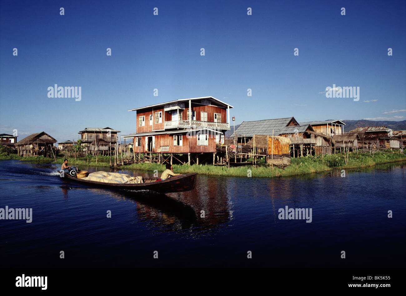 Inle Lake, Shan State, Myanmar (Burma), Asia - Stock Image