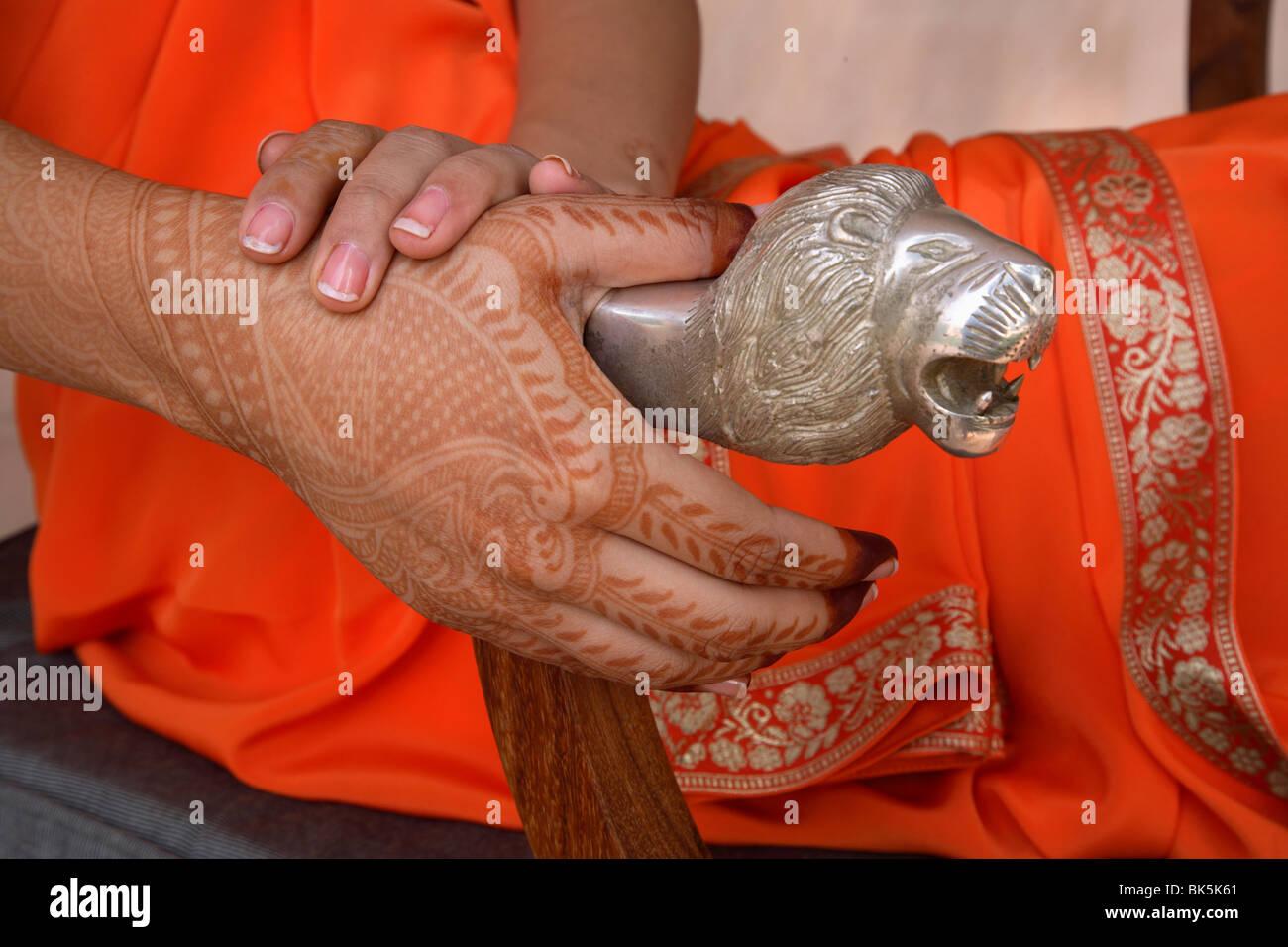 Mehendi Indian Henna Body Art India Asia Stock Photo 29013657
