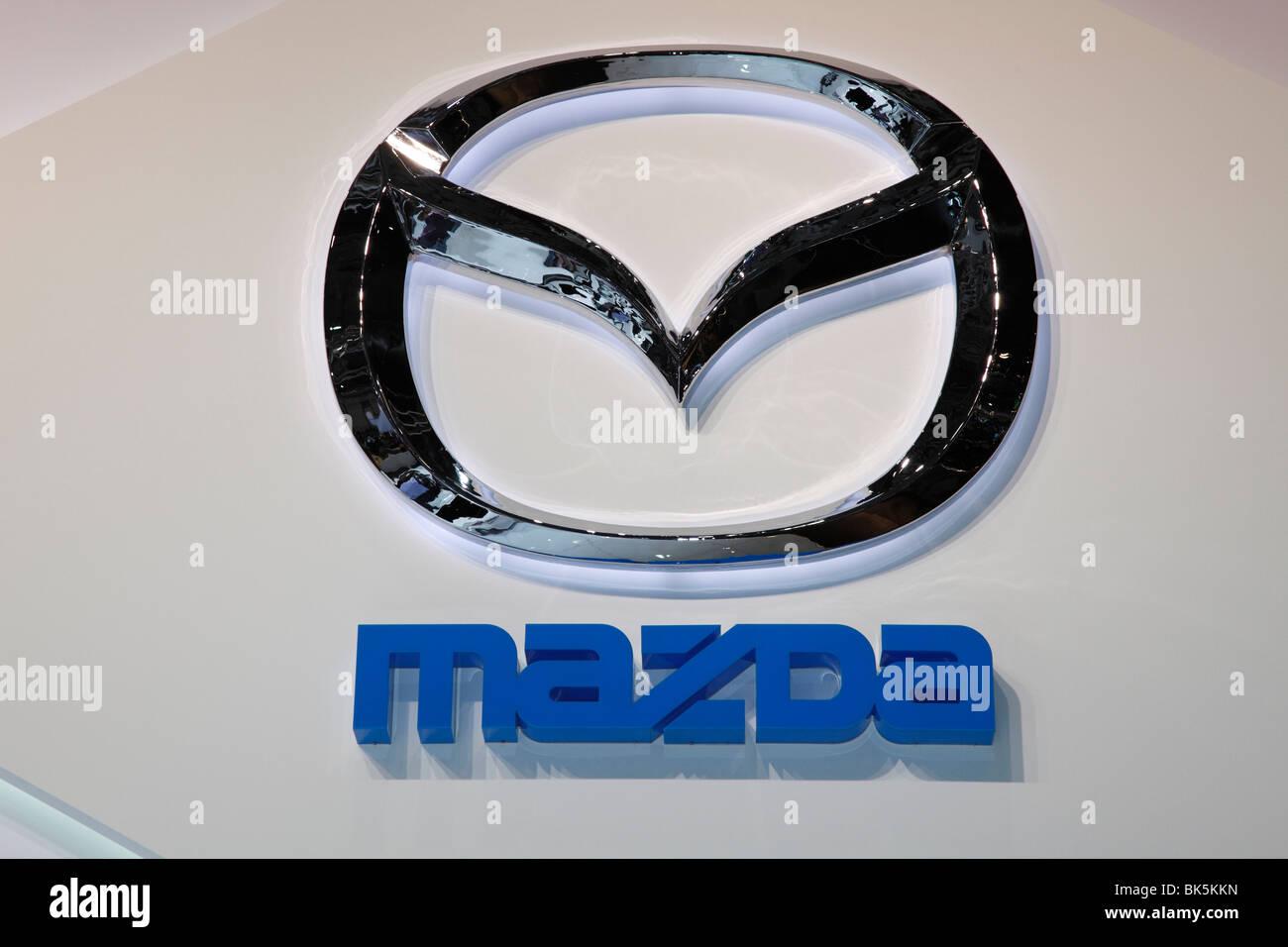Mazda Logo Stock Photos Mazda Logo Stock Images Alamy