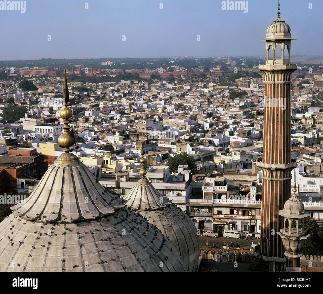 Jama Masjid in Old Delhi, India, Asia - Stock Image