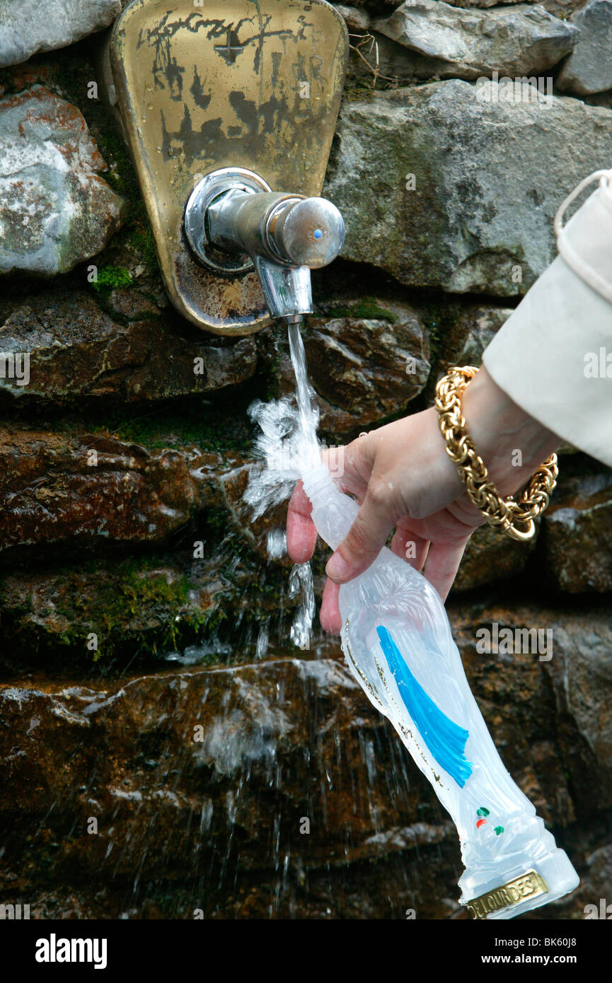 Miraculous properties of holy water