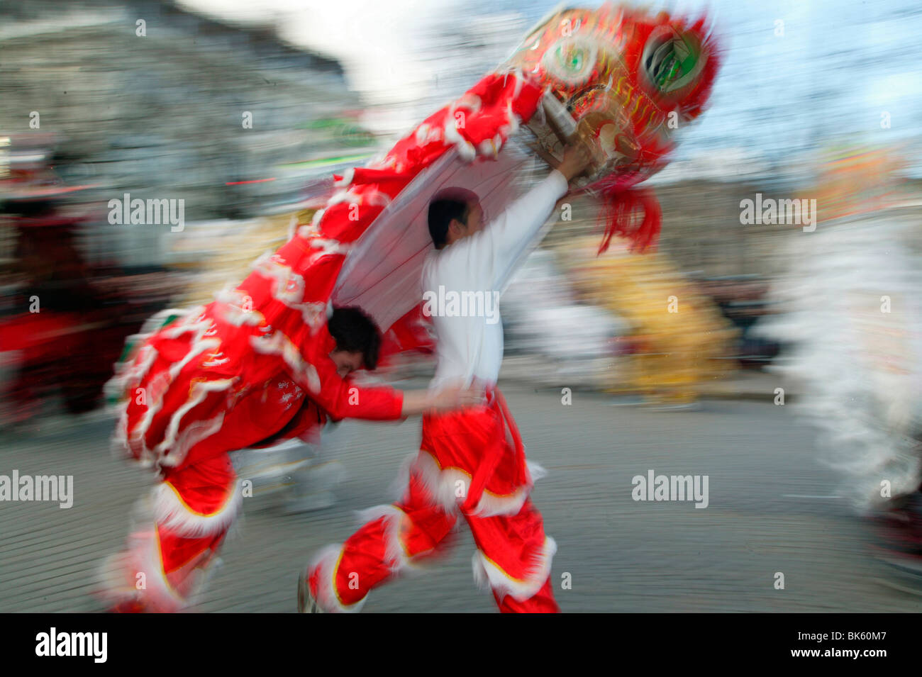 Chinese New Year, Paris, France, Europe - Stock Image
