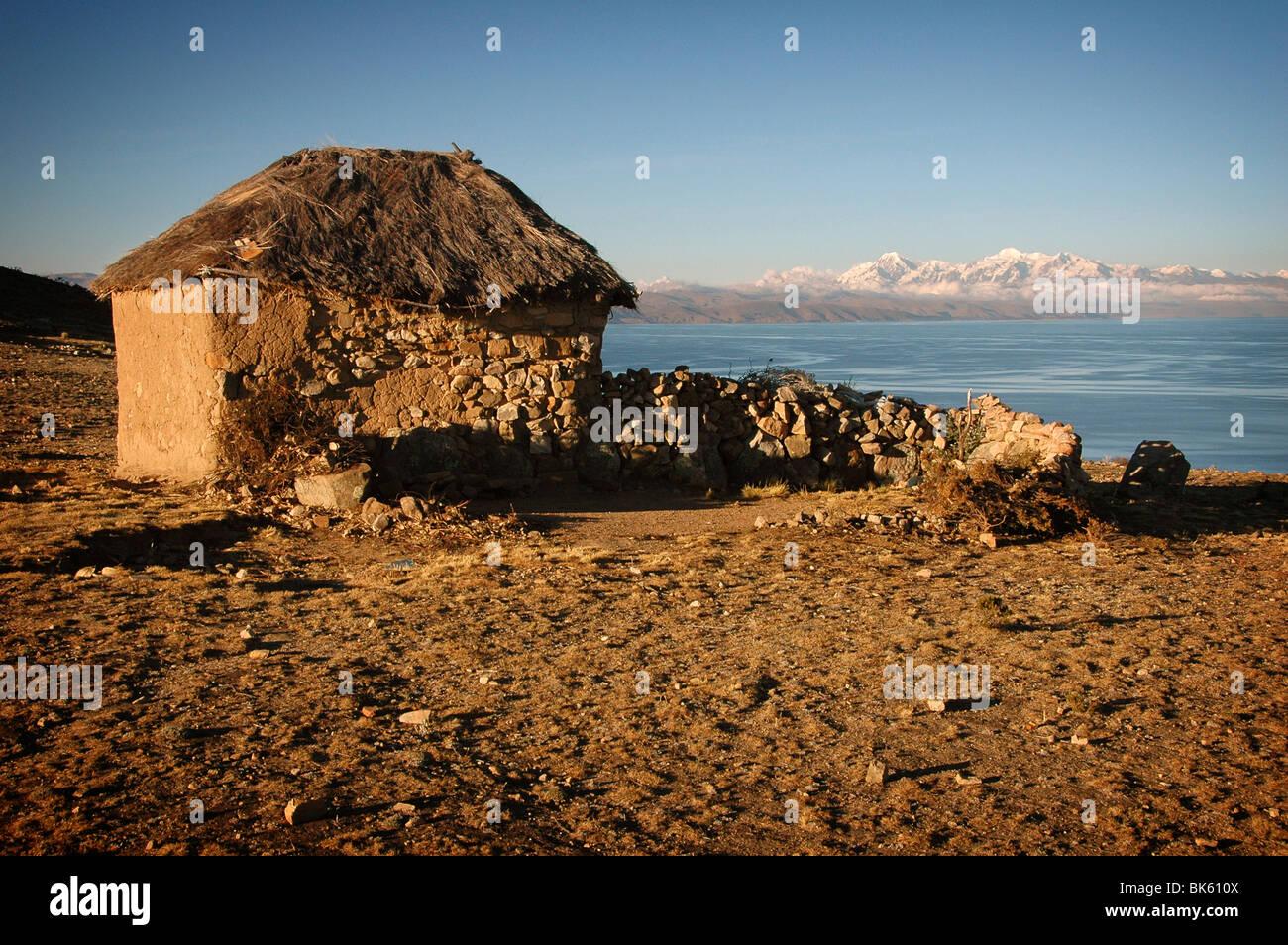 Isla del Sol, Bolivia - Stock Image