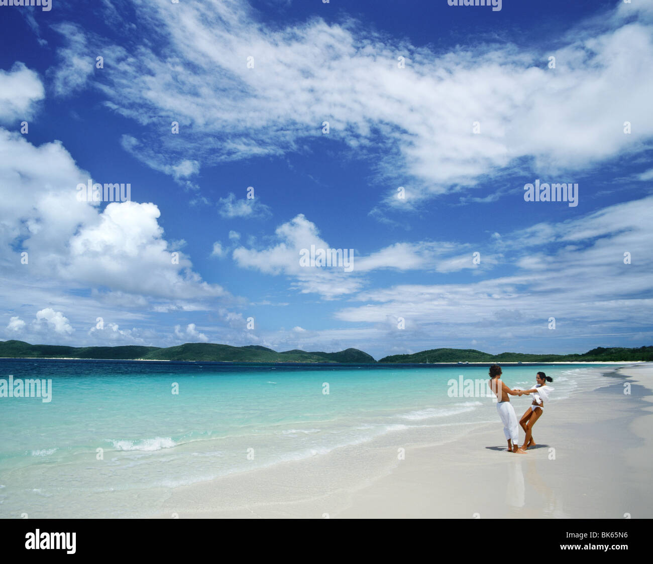 Whitehaven, Whitsunday Islands, Queensland, Australia, Pacific - Stock Image