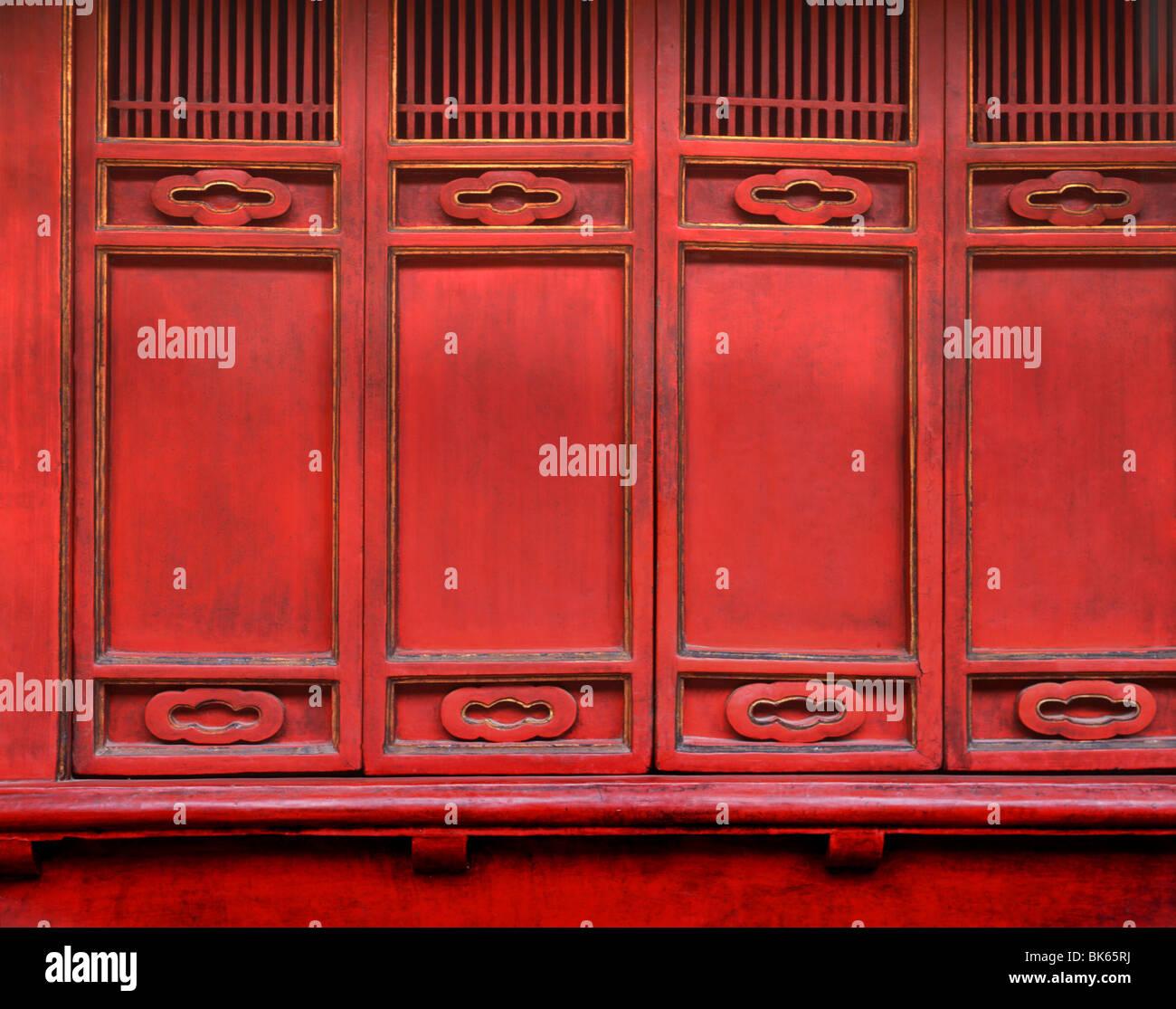 Temple of Literature, Hanoi, Vietnam, Indochina, Southeast Asia, Asia - Stock Image