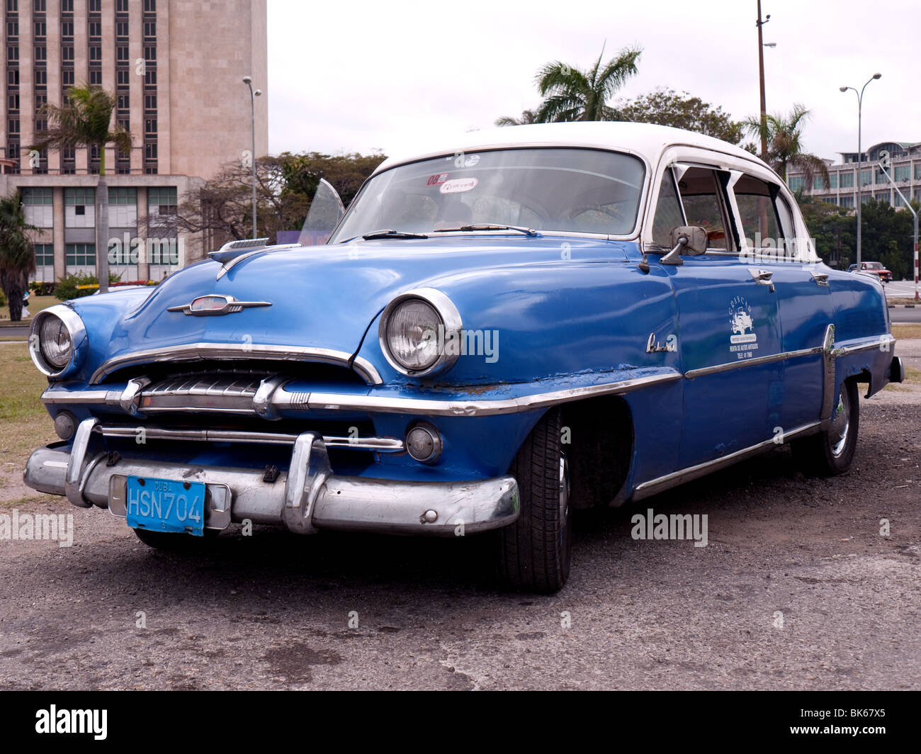Plymouth Belvedere 1950s American Car in Havana Old City, Havana ...