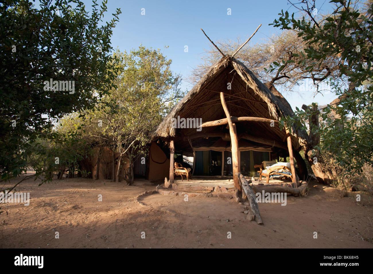 Elephant Watch Camp, Samburu National Reserve, Kenya, Africa - Stock Image