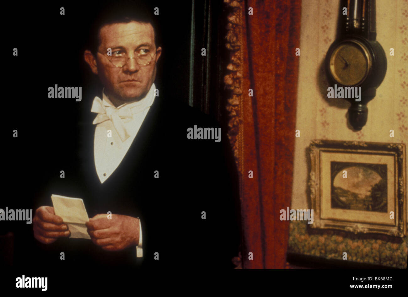 The Dead  Year : 1987 Director : John Huston Donal McCann - Stock Image