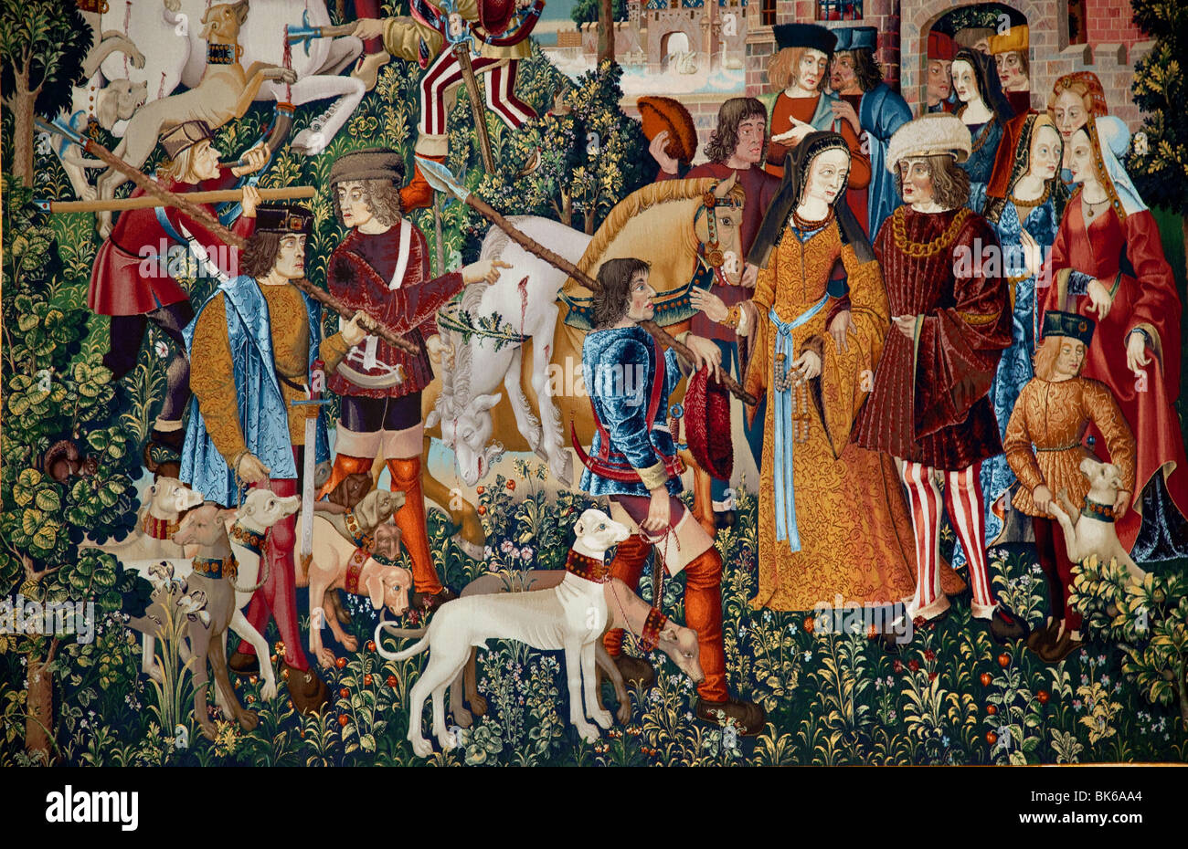 Medieval Tapestry Uk High Resolution Stock Photography And Images Alamy