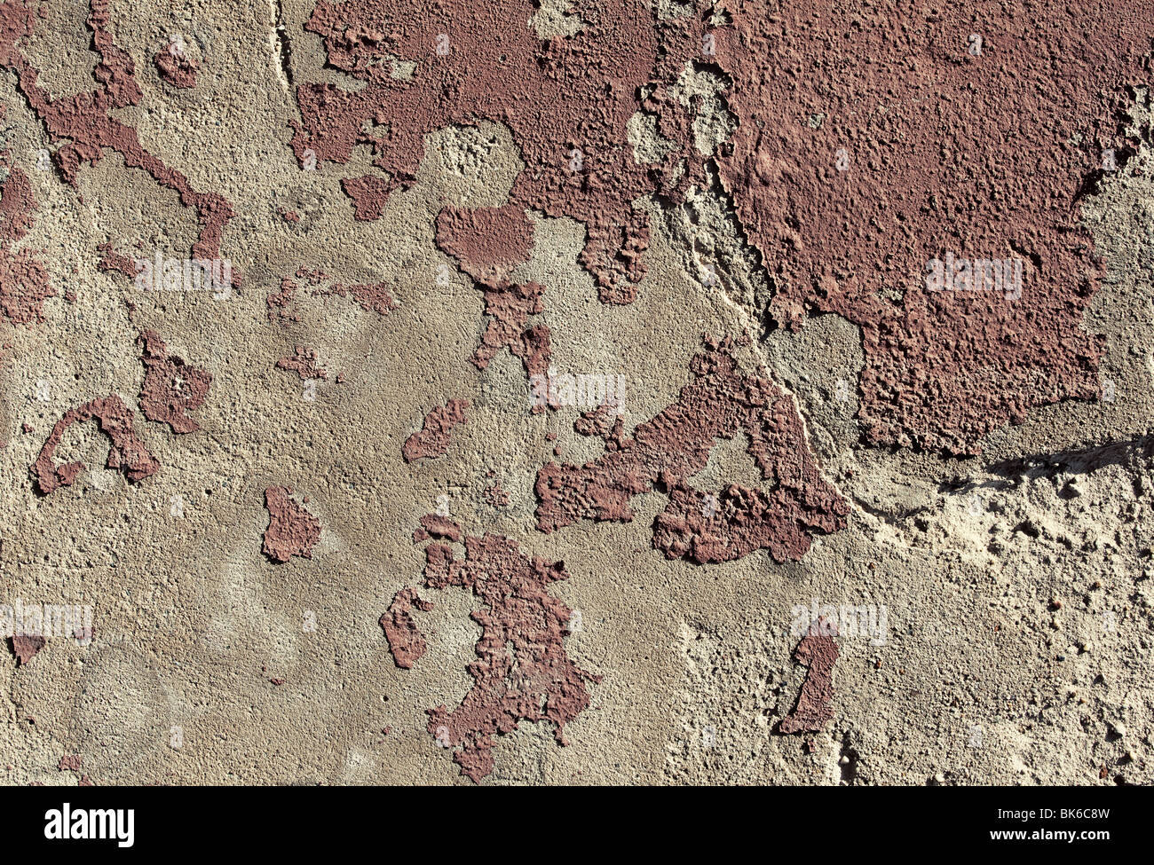 Abstract stone with old paint texture or background. - Stock Image