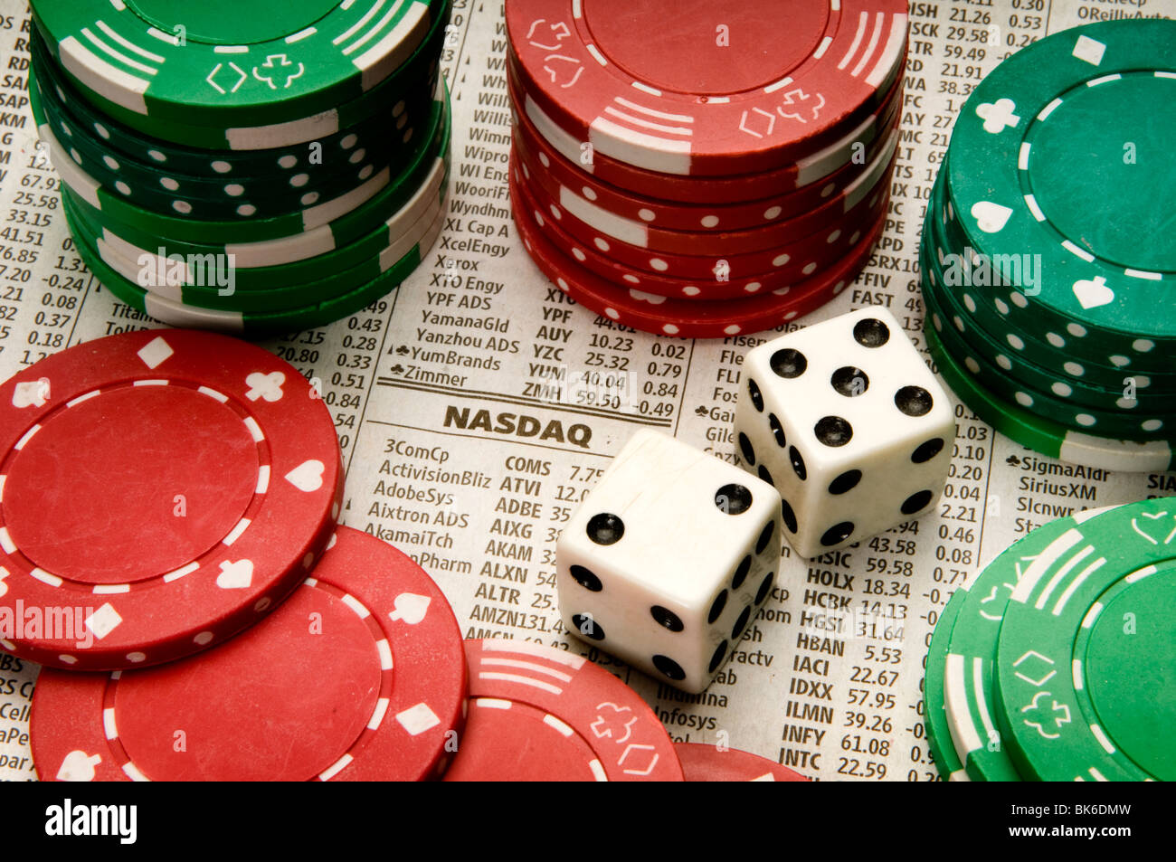 gambling - Stock Image