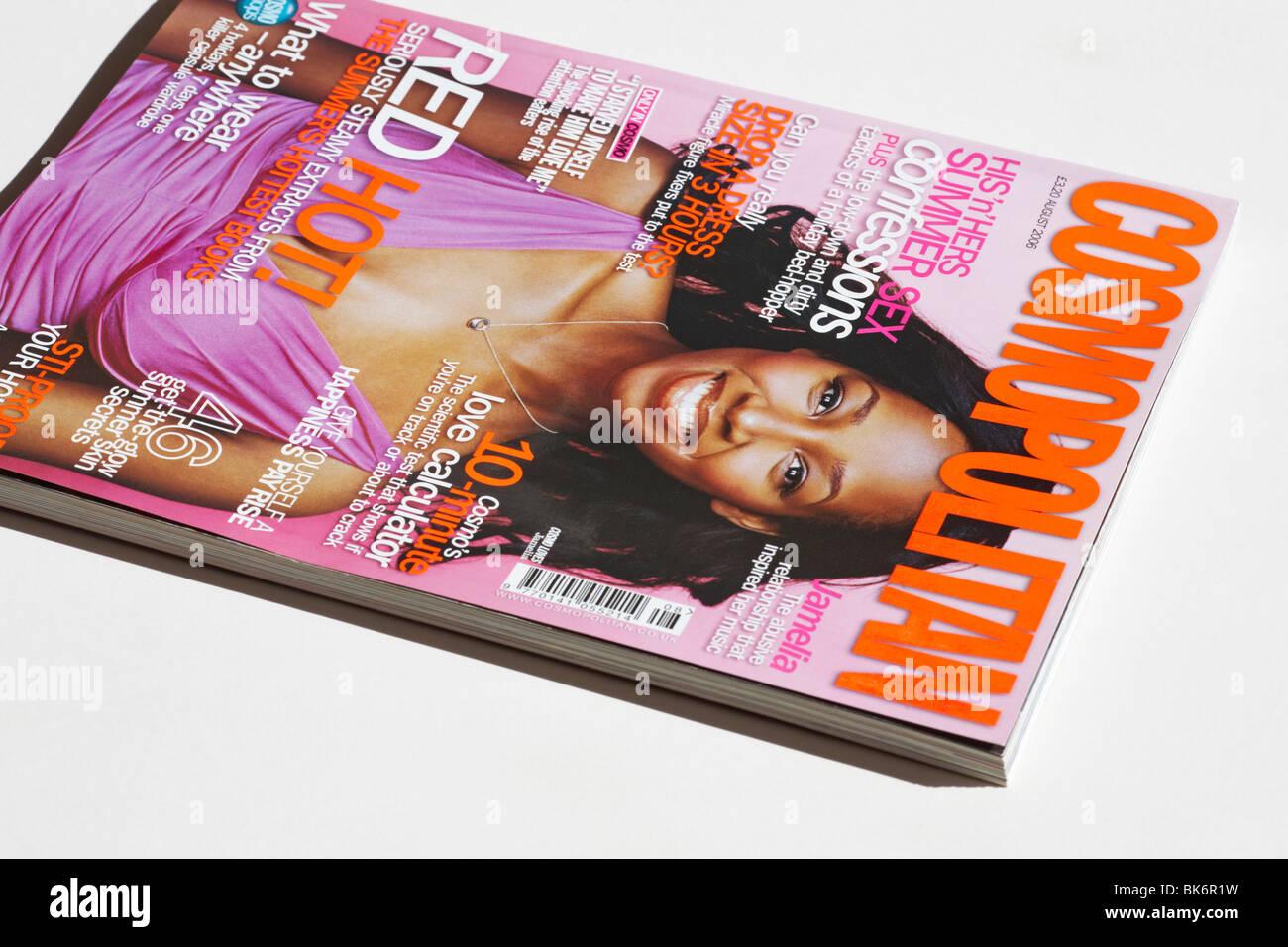 Cosmopolitan magazine - Stock Image