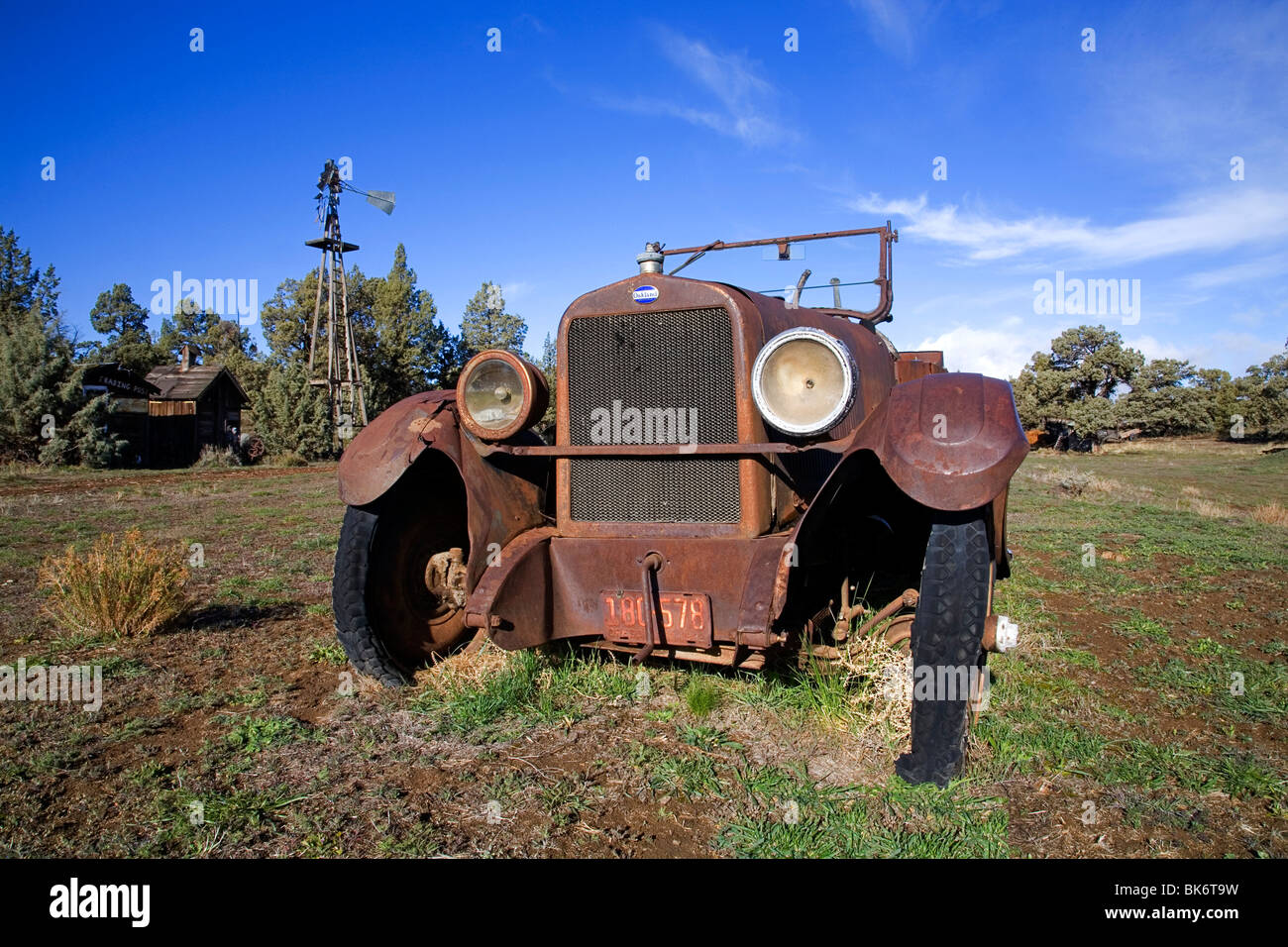 An Oakland classic automobile car made between 1909 and 1931 by the Oakland Motors Division of General Motors Corporation - Stock Image