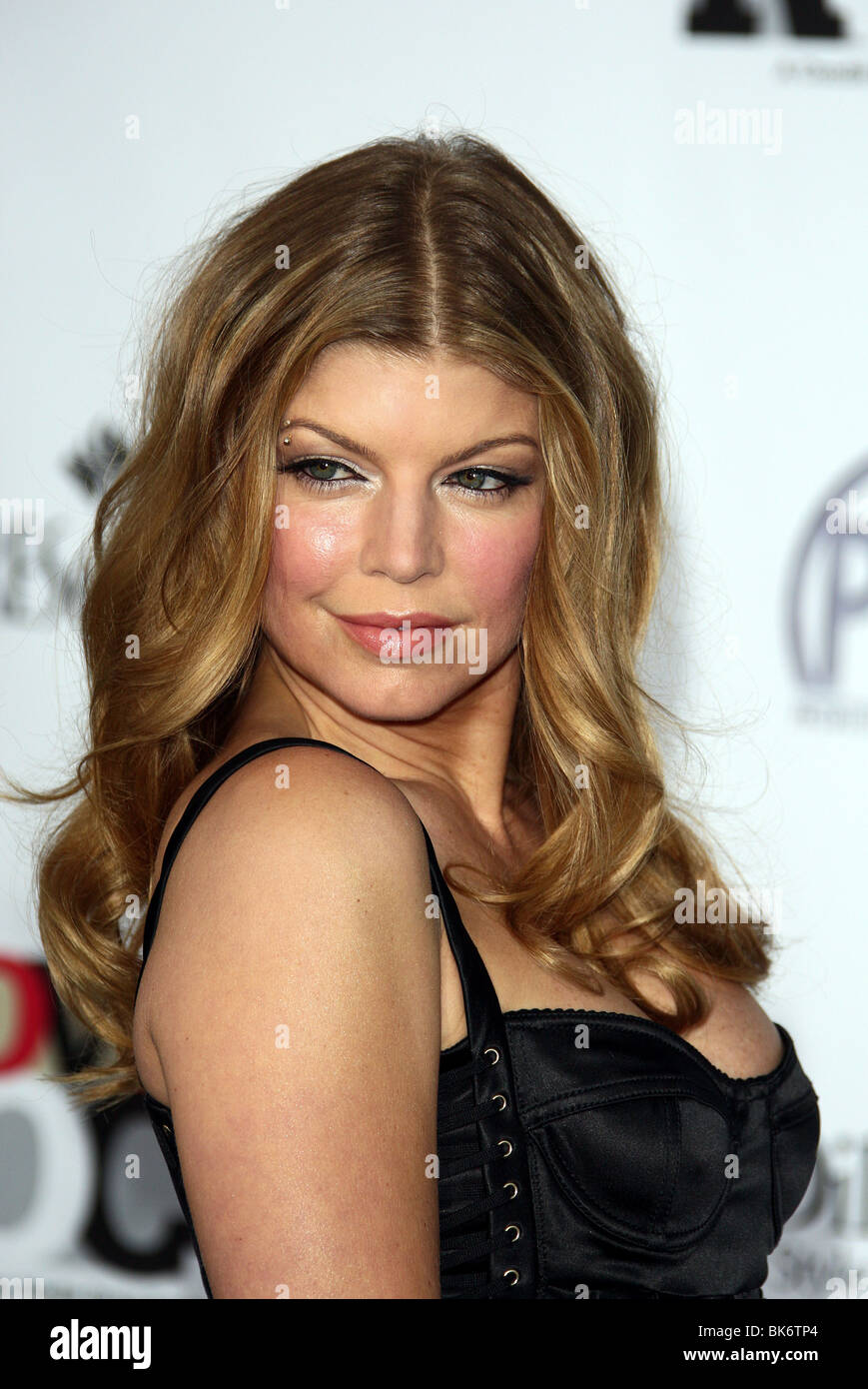 FERGIE MOVIES ROCK A CELEBRATION OF MUSIC IN FILM KODAK THEATRE HOLLYWOOD LOS ANGELES USA 03 December 2007 - Stock Image