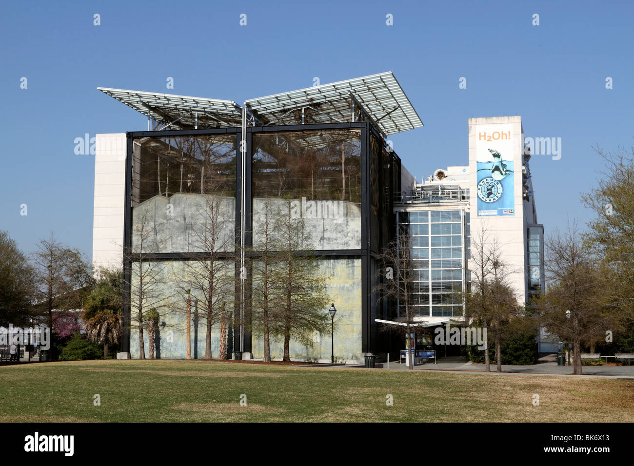 The South Carolina Aquarium, Charleston, SC, USA. - Stock Image