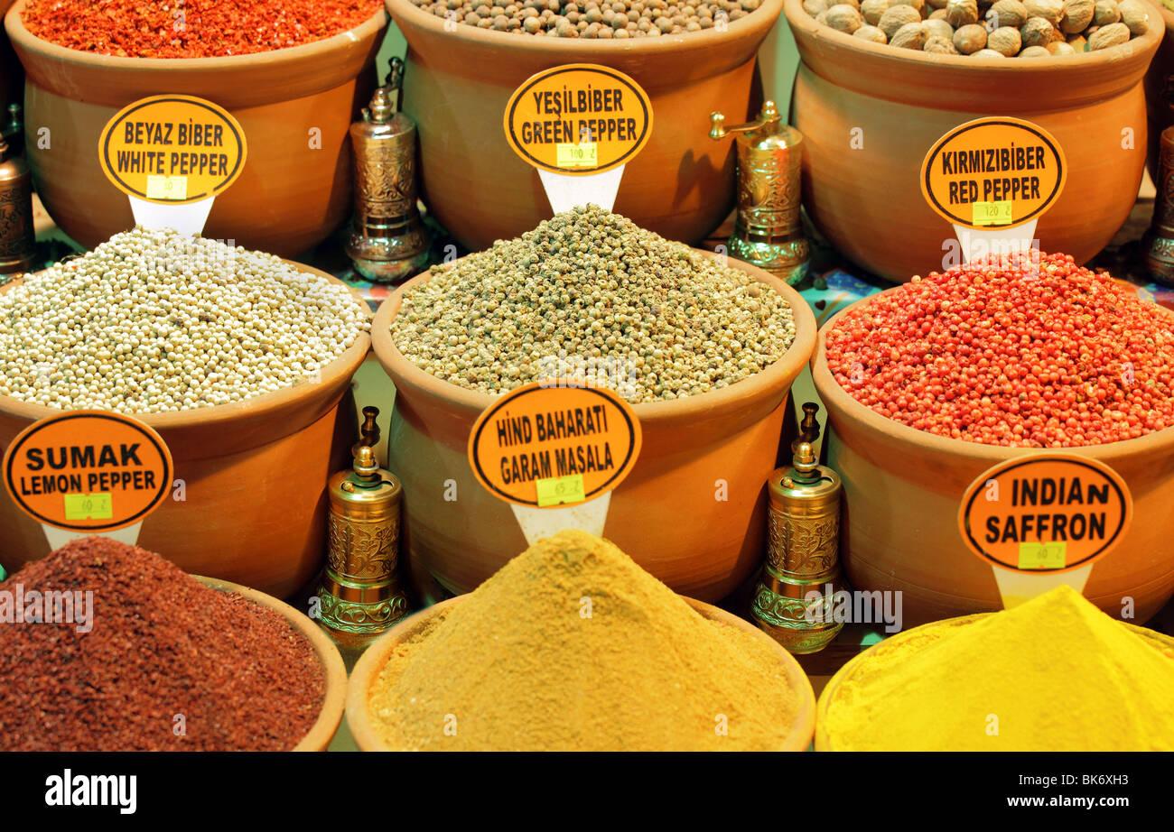 Spice Market - Stock Image