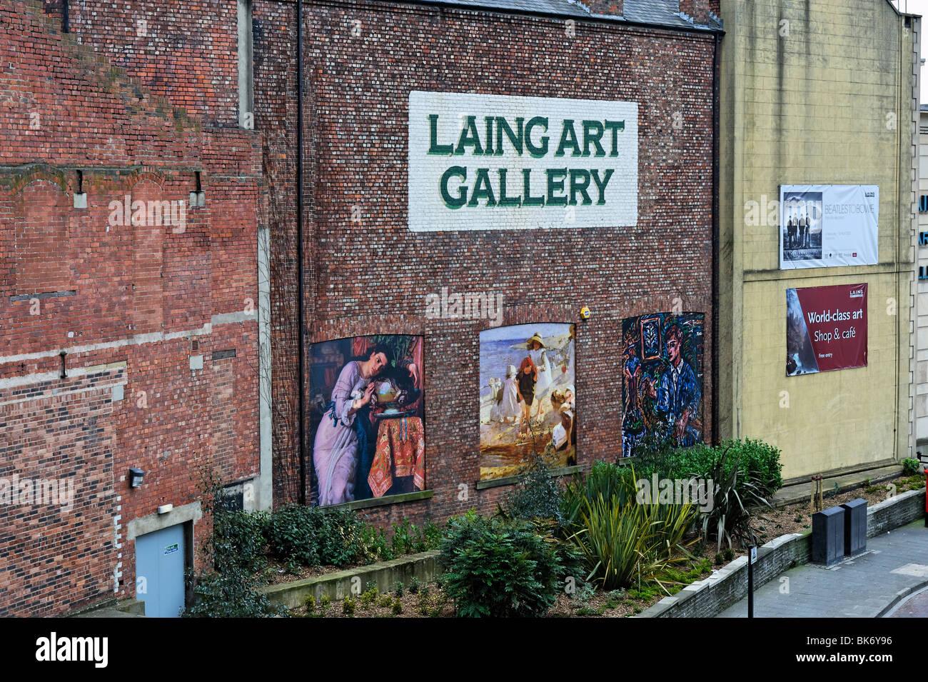 Laing Art Gallery Newcastle-upon-Tyne Stock Photo