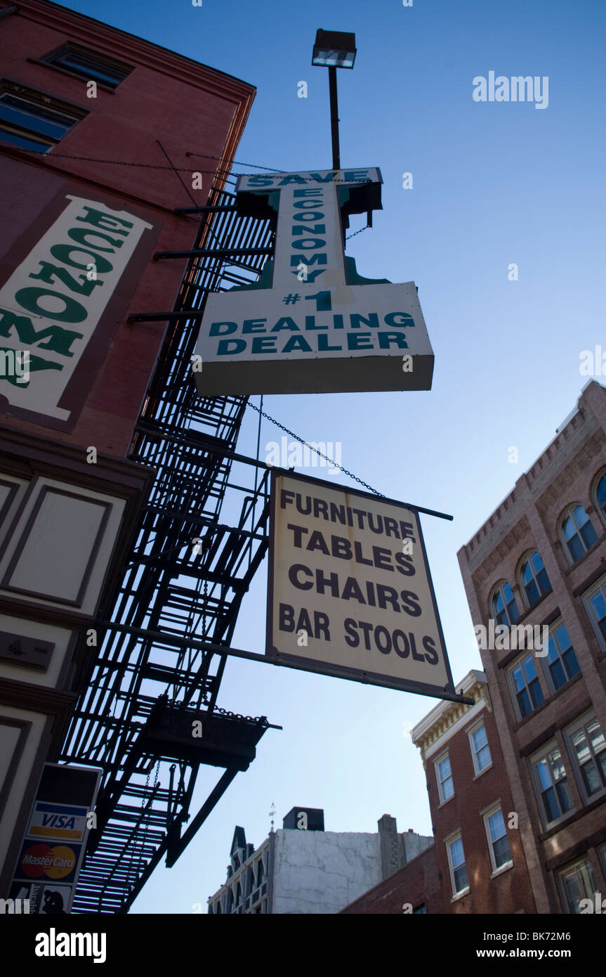 Signs For A Furniture Store In Philadelphia Pa On Wednesday March