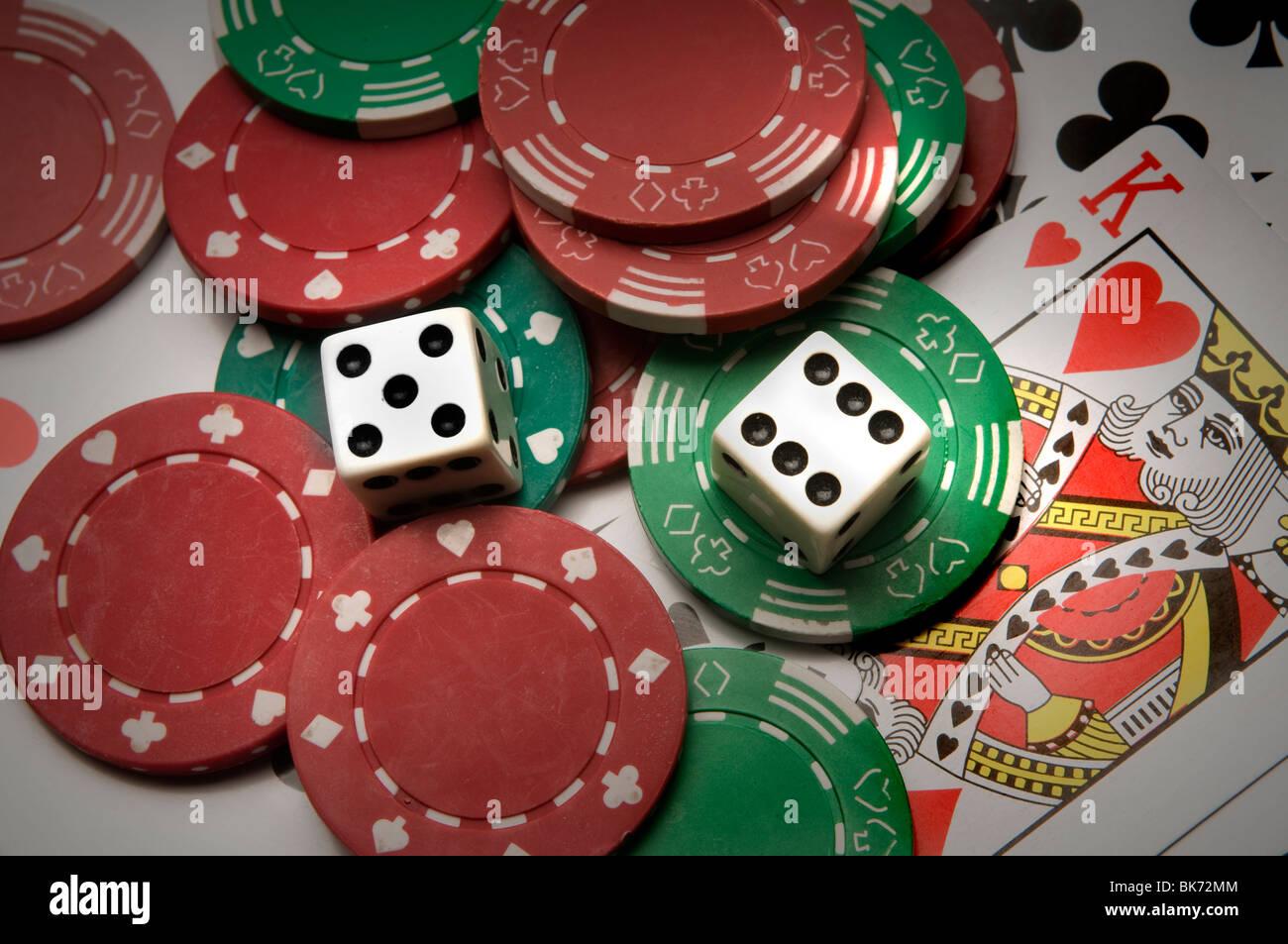 gambling roulette table