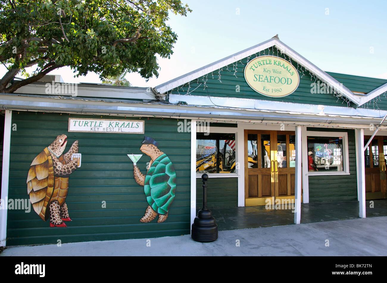 Turtle Kraals Seafood Restaurant Key West Florida Usa