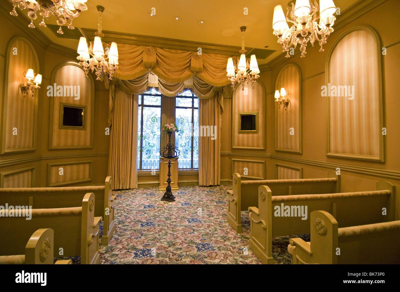 Wedding Chapel Hotel Bellagio Las Vegas Stock Photo 29045464 Alamy