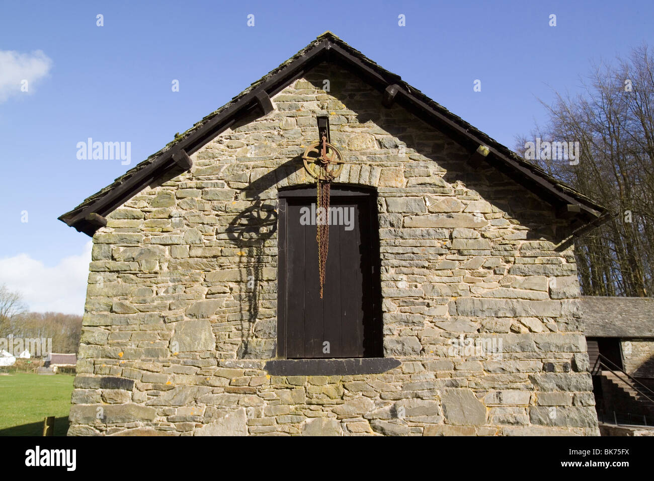 Stone Barn Upper Barn Door Hayloft Grain Store Pulley