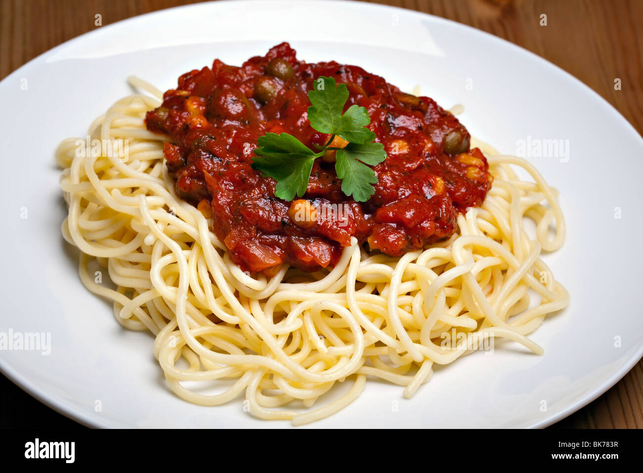 spaghetti bolognese traditional italian food stock photo 29048875 alamy. Black Bedroom Furniture Sets. Home Design Ideas