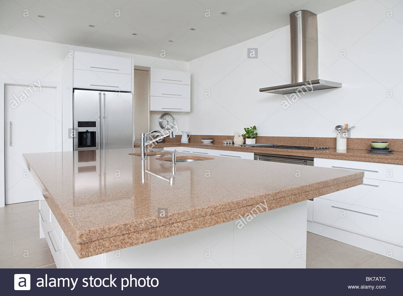 Modern kitchen - Stock Image
