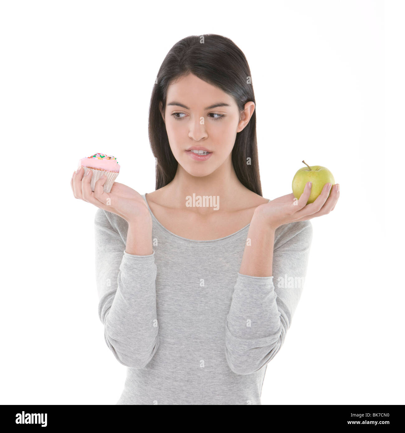 Diet choices - Stock Image