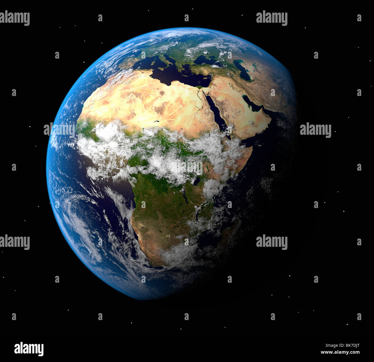 Earth, artwork - Stock Image