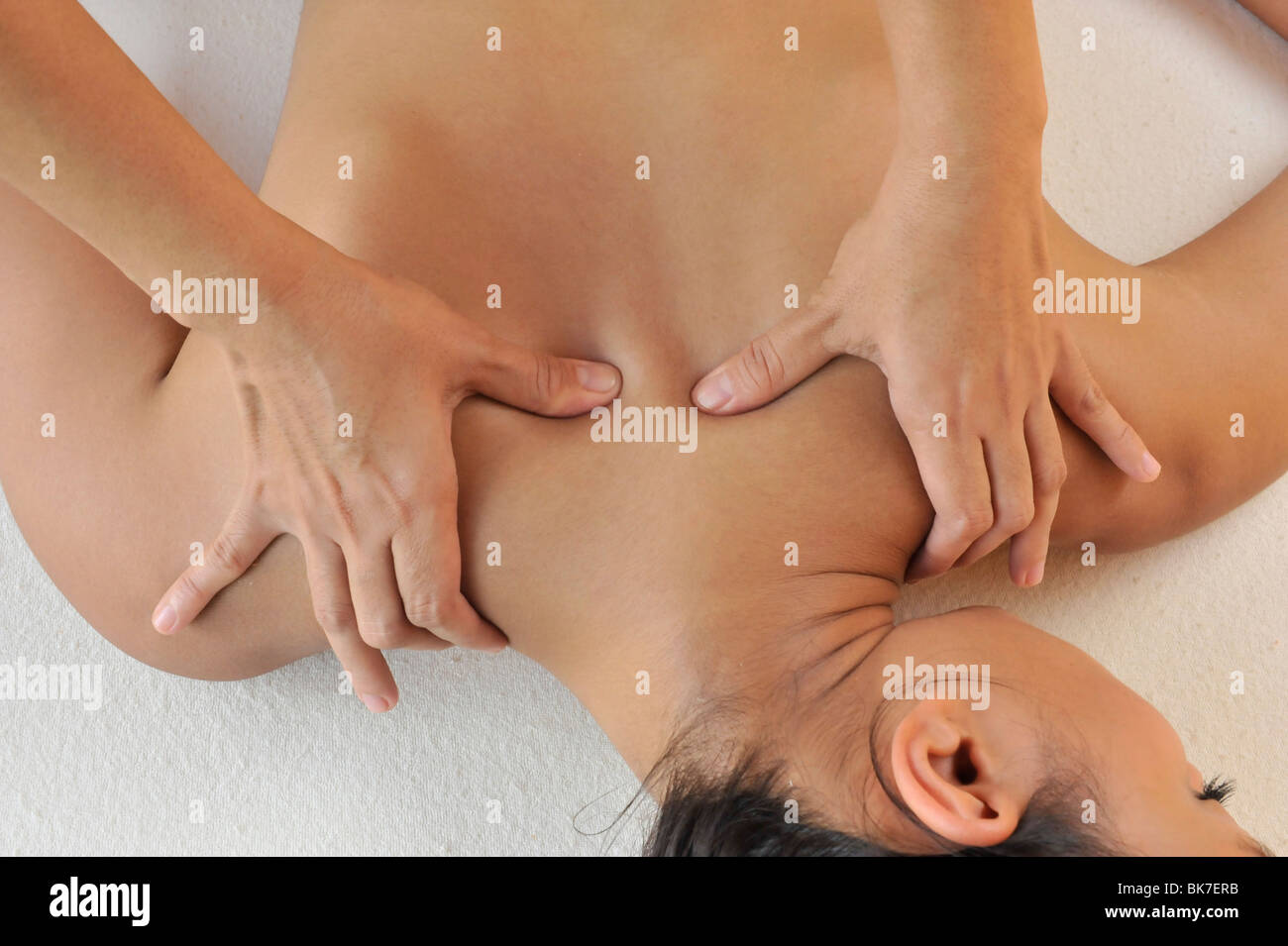 Tui Na Massage, traditional Chinese massage&#10, - Stock Image