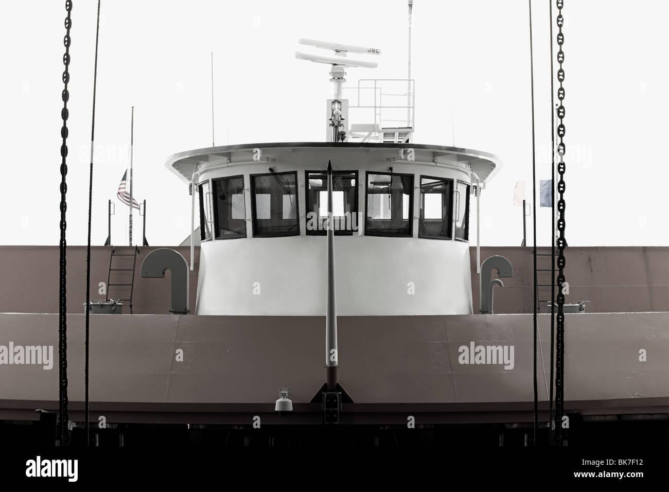 Staten island ferry - Stock Image