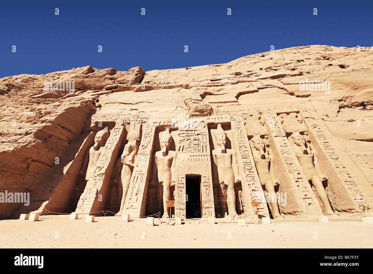 Abu simbel egypt - Stock Image