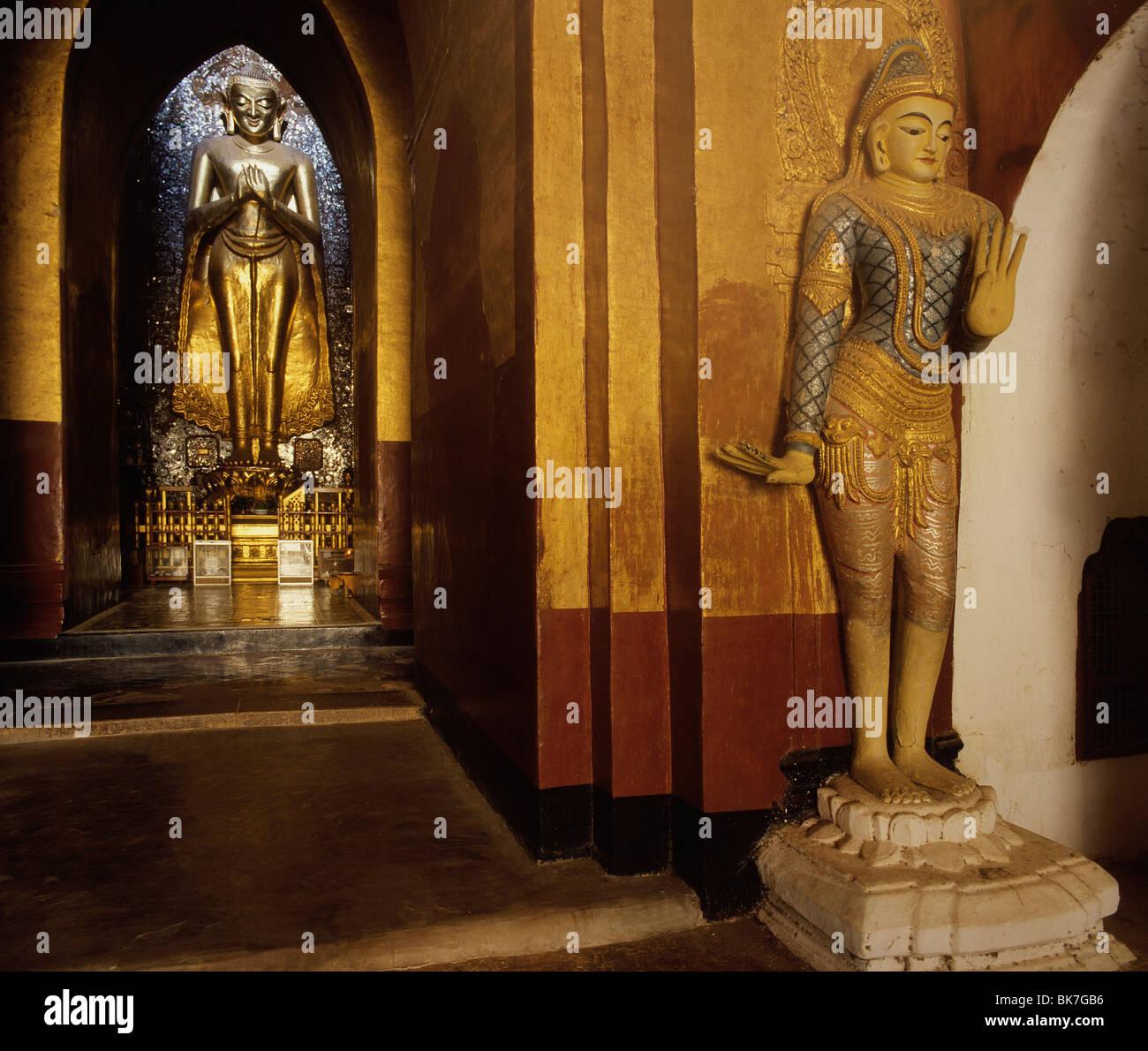 Ananda temple, Bagan (Pagan), Myanmar (Burma), Asia - Stock Image
