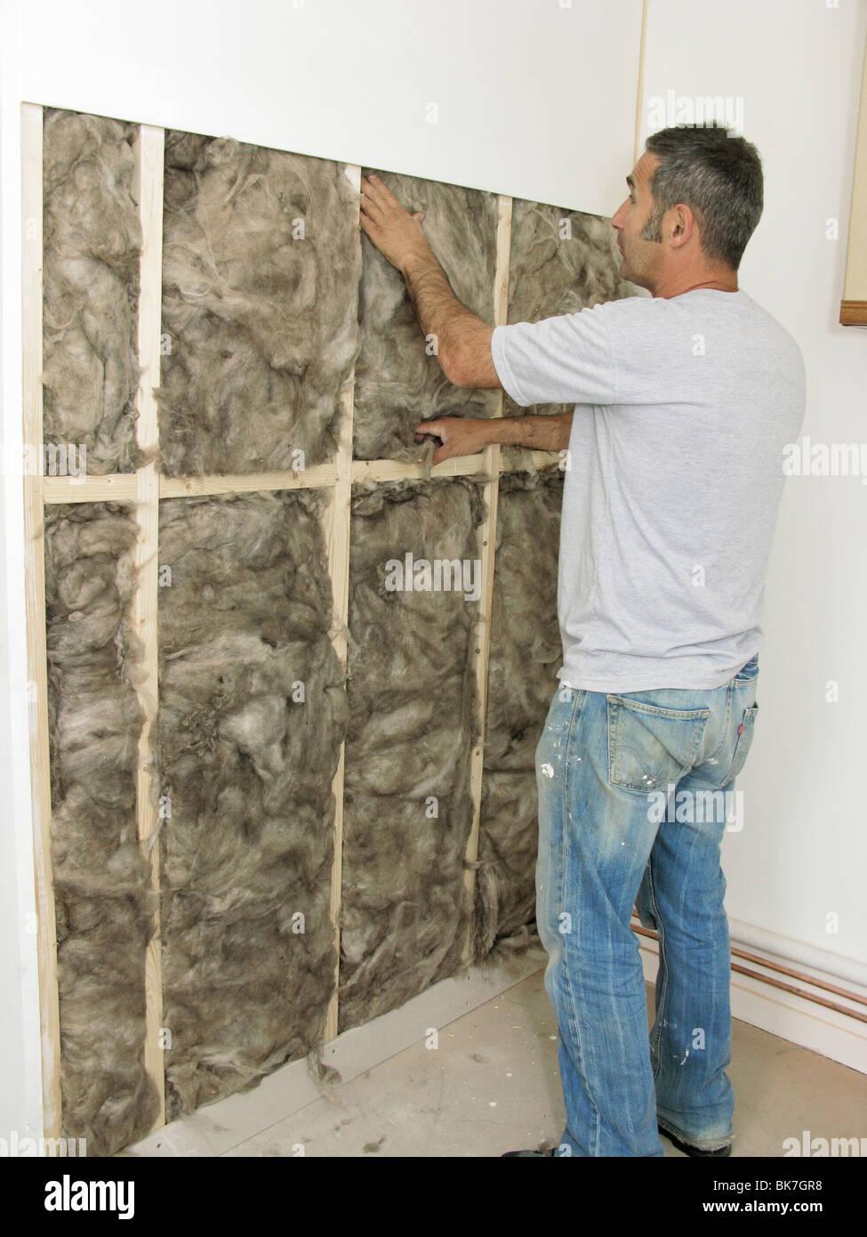 Cavity Wall Insulation Carbon Black : Insulation wall stock photos