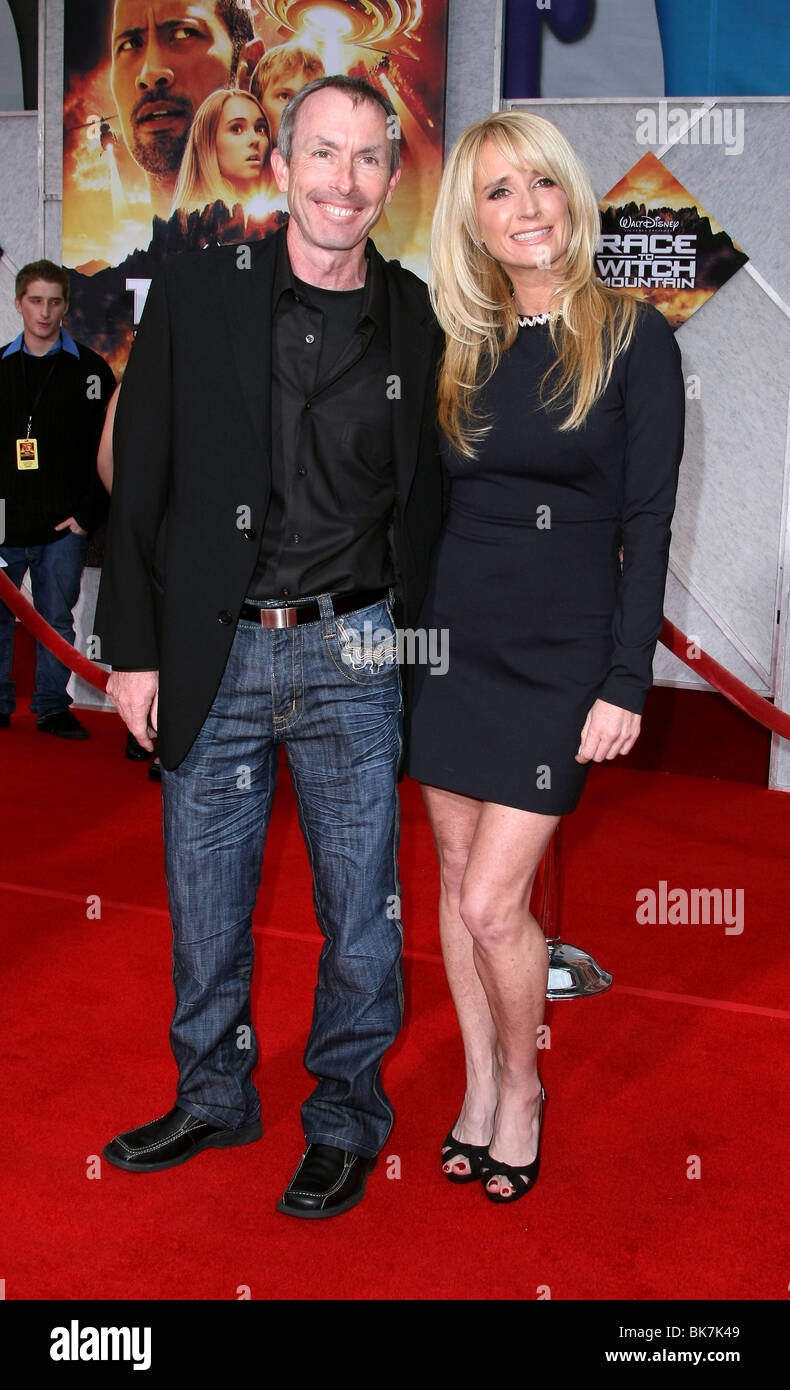 IKE EISENMANN KIM RICHARDS RACE TO WITCH MOUNTAIN WORLD PREMIERE HOLLYWOOD LOS ANGELES CA USA 11 March 2009 - Stock Image