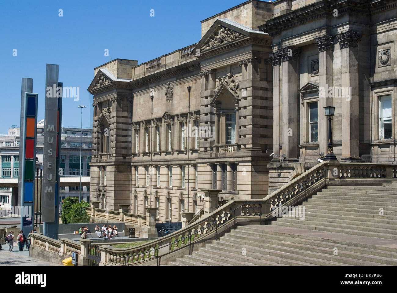 The World Museum, part of Liverpool's museum complex, Liverpool, Merseyside, England, United Kingdom, Europe Stock Photo